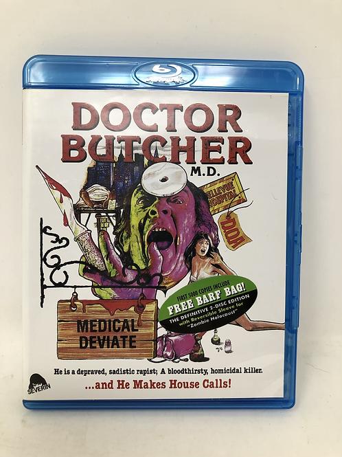 Doctor Butcher Zombie Holocaust 2 Disc Blu Ray Severin