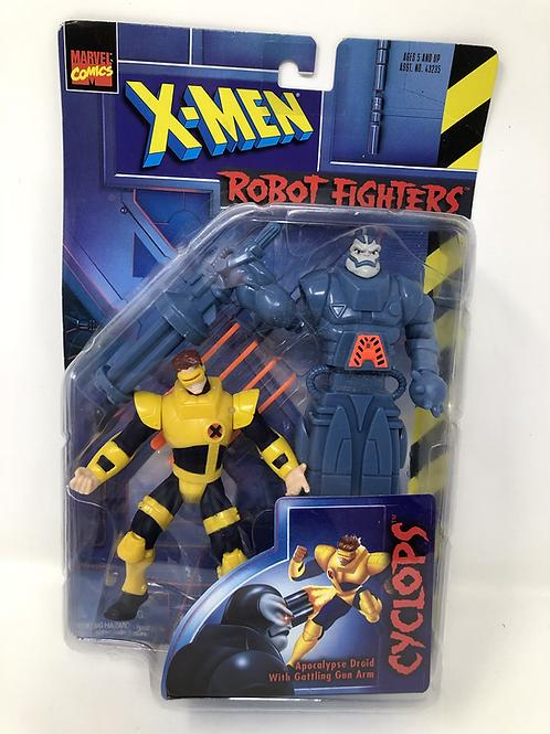 X-Men Cyclops Robot Fighters Toybiz