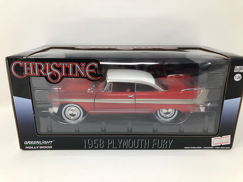 Stephen King's Christine 1958 Plymouth Fury Diecast 1:24