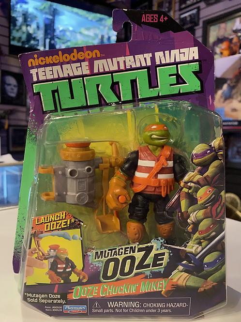 TMNT Teenage Mutant Ninja Turtles Mutagen Ooze Chuckin' Mikey