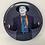 "Thumbnail: DC Batman Movie Joker Vintage 6"" Pin"