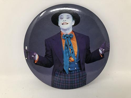 "DC Batman Movie Joker Vintage 6"" Pin"