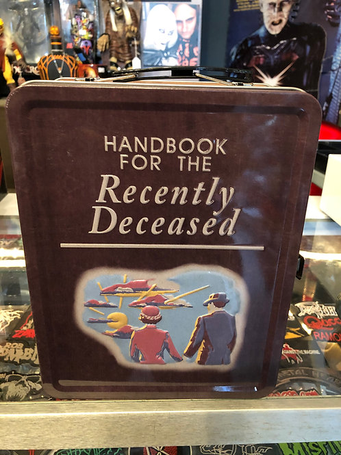Beetlejuice Handbook for the Recently Deceased Lunchbox