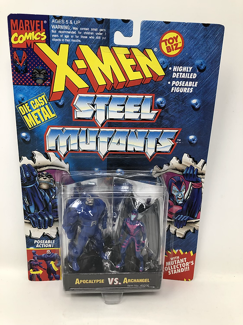 X-Men Steel Mutants Apocalypse Archangel Toybiz