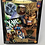 "Thumbnail: Famous Covers Marvel Sabretooth 8"" Toybiz"