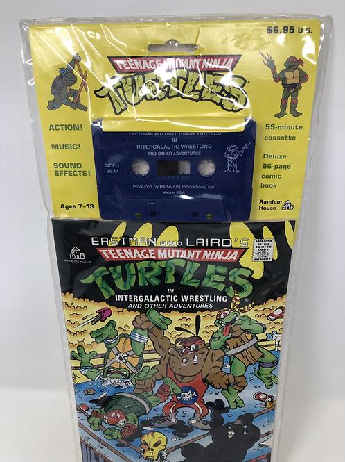 Tmnt Teenage Mutant Ninja Turtles Cassette & Comic