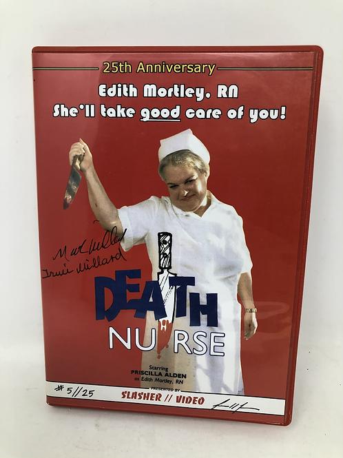 Death Nurse Slasher Video Numbered and Signed
