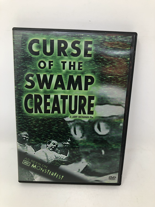 Curse of the Swamp Creature DVD Monsterfest