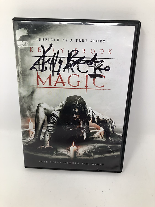 Black Magic DVD Signed by Kelly Brook