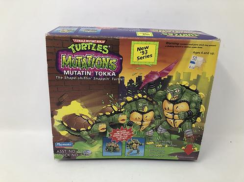 Tmnt Teenage Mutant Ninja Turtles Mutatin Tokka Playmates