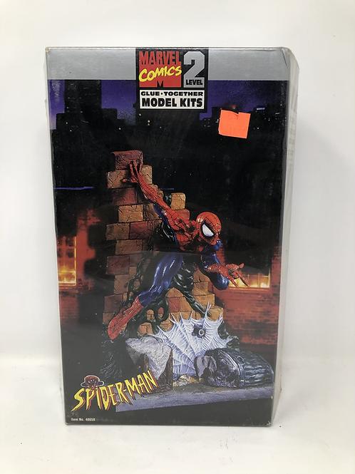Spiderman Marvel Glue Together Model Kit Toybiz