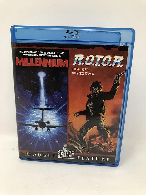 Millennium / R.O.T.O.R. Blu Ray - Scream Factory