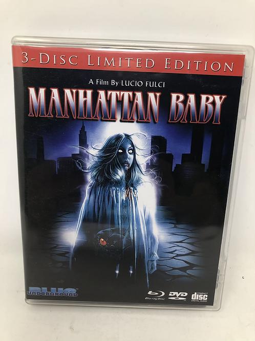 Manhattan Baby 3 Disc Blu Ray DVD Blue Underground