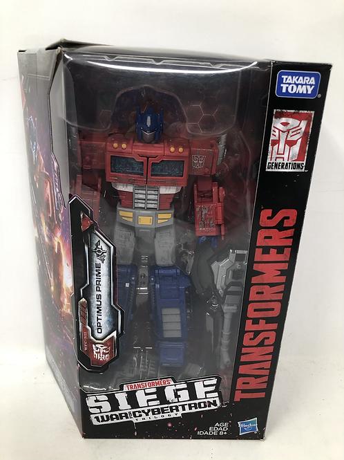 Transformers Optimus Prime Siege Hasbro