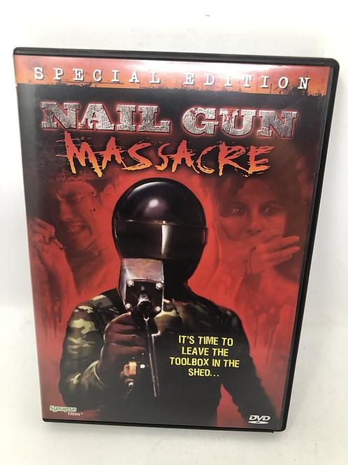 Nail Gun Massacre DVD Synapse Films