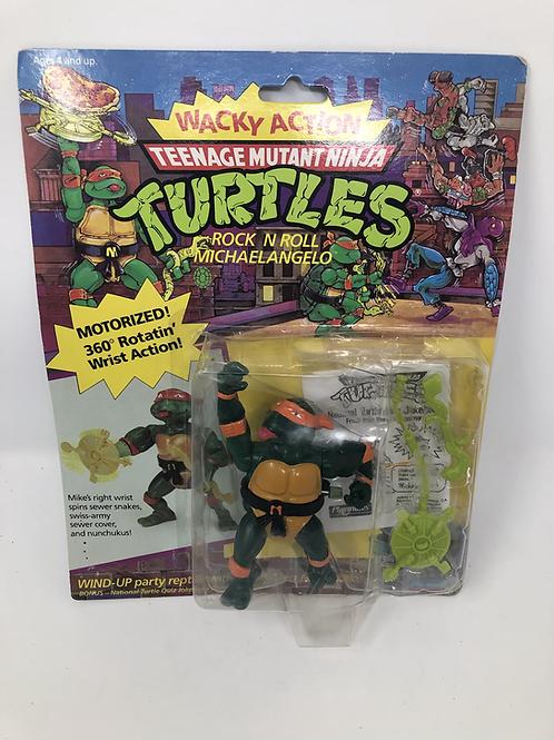 Tmnt Teenage Mutant Ninja Turtles Rock N Roll Michaelangelo Playmates
