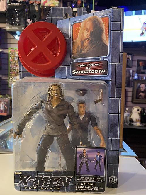 Marvel X-Men Movie Sabretooth with Security Guard Toybiz