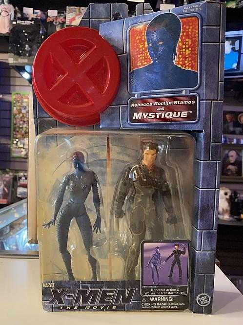 Marvel X-Men Movie Wolverine & Mystique 2 pack Toybiz