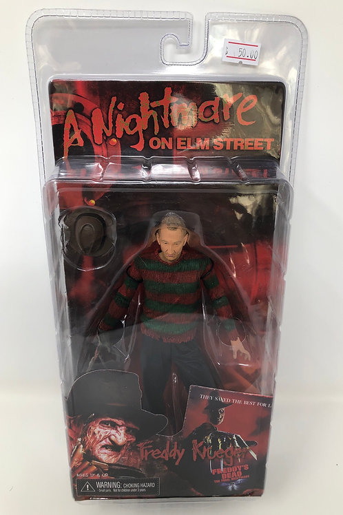 Nightmare on Elm Street Neca Freddy's Dead figure Neca