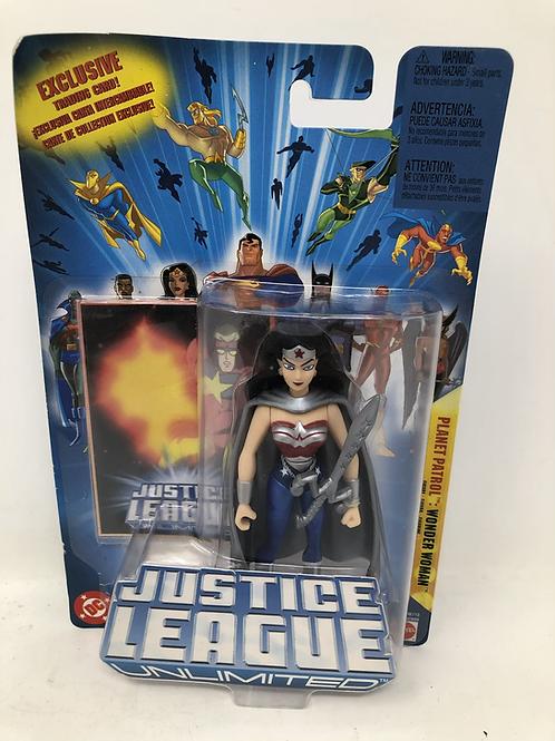 DC Justice League Unlimited Wonder Women Mattel