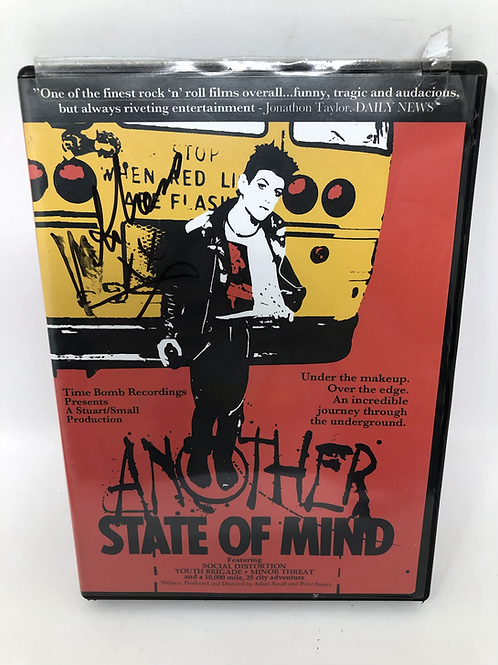 Another State of Mind Mike Ness Signed DVD