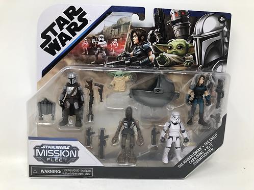 Star Wars Mandalorian Mission Fleet Defend the Child Hasbro