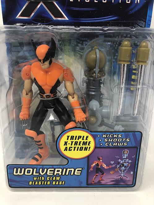 X-Men Evolution Wolverine Claw Blaster Base Toybiz