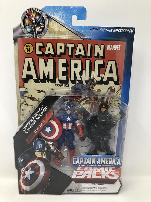 Captain America Winter Soldier Comic Pack