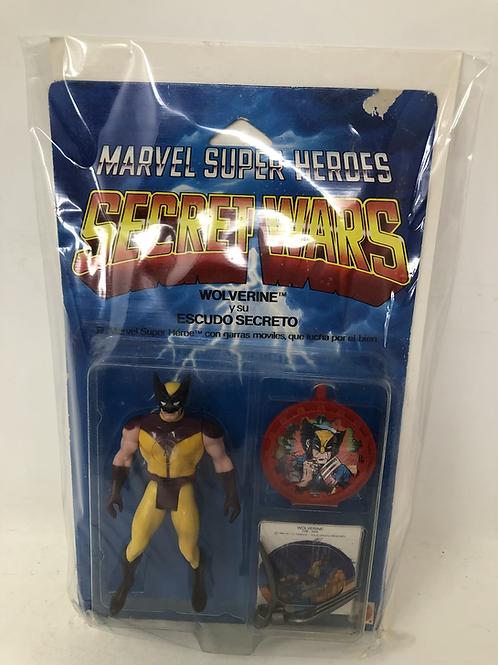 Vintage Marvel Secret Wars  Wolverine Mattel