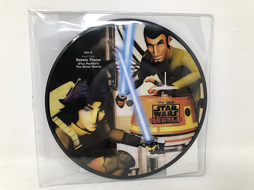 """Star Wars Rebels 7"""" Picture Disc"""