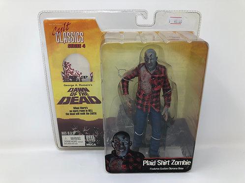 Dawn of the Dead Plaid Shirt Zombie 2006 Neca Cult Classics Series 4