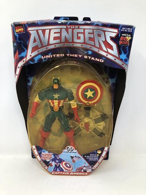 Avengers Captain America United We Stand Toybiz