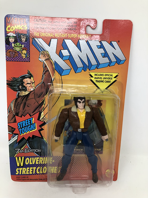 Marvel X-Men Wolverine Street Clothes Toybiz