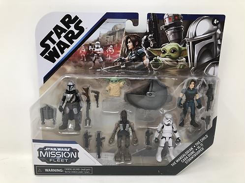 Star Wars Mission Fleet Mandalorian Defend the Child