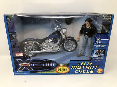 X-Men Evolution Logan Wolverine Mutant Cycle Toy Biz