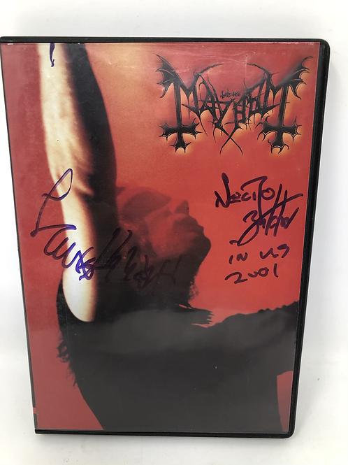 Mayhem Live in Marseille Signed DVD