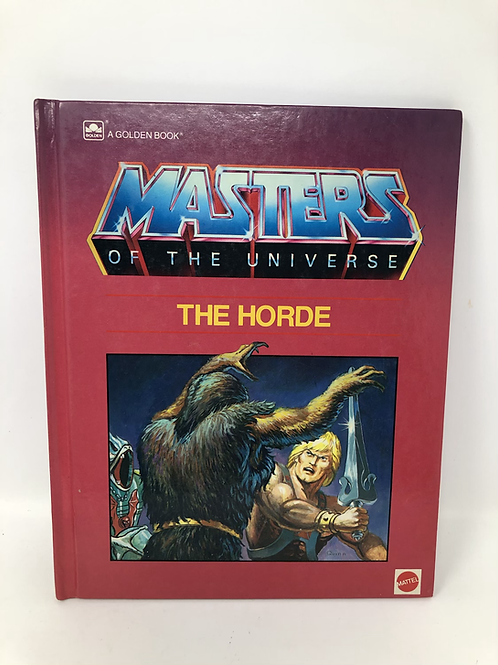 Masters of the Universe The Horde Golden Book