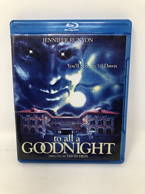 To All a Goodnight Blu Ray