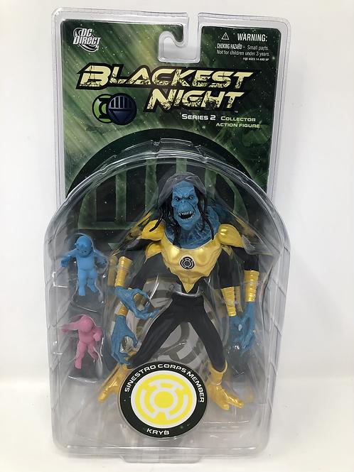 Blackest Night Kryb Sinestro Corps Member