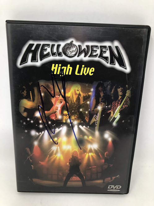 Helloween High Live DVD Signed