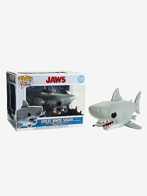 Jaws Funko Pop 759 Great White Shark with Diving Tank