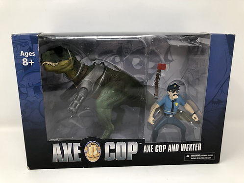 Axe Cop with Wexter