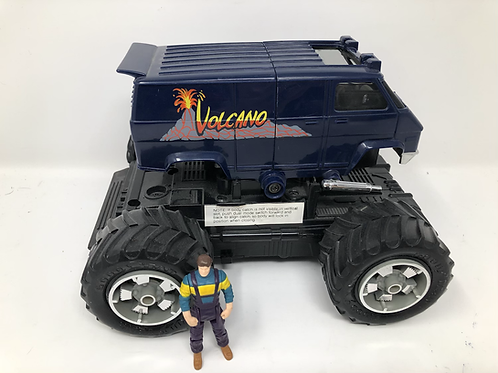 1986 M.A.S.K. Volcano Kenner Mask