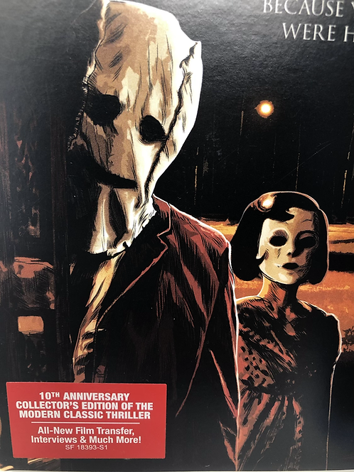 The Strangers Blu Ray 10th Anniversary with Slip Cover