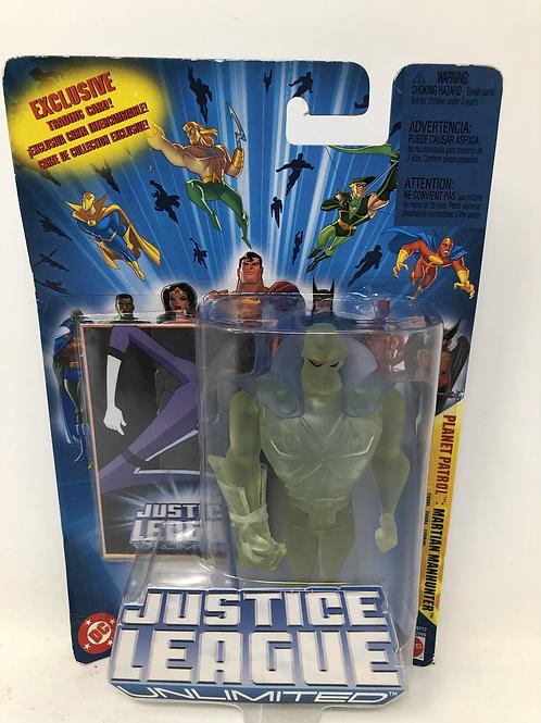 DC Justice League Unlimited Martian Manhunter Mattel