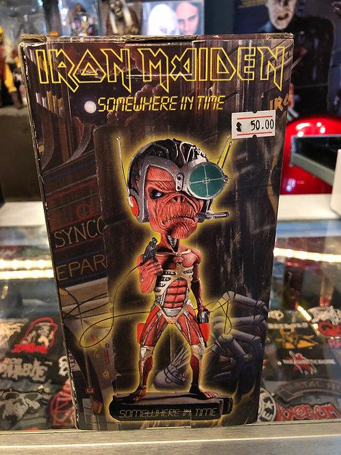 Iron Maiden Somewhere in Time 2004 Neca Head Knocker