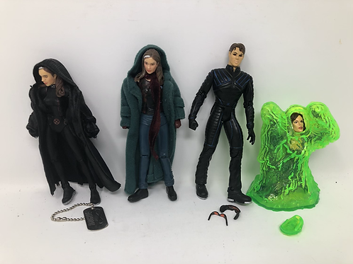 X-Men Movie Figure Lot Rogue Cyclops Jean Grey Toybiz