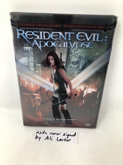 Resident Evil: Apocalypse DVD Set Autographed