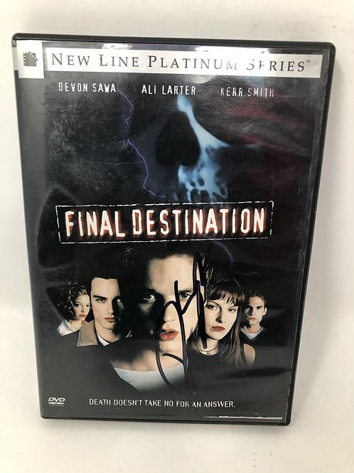 Final Destination DVD Signed by Devon Sawa