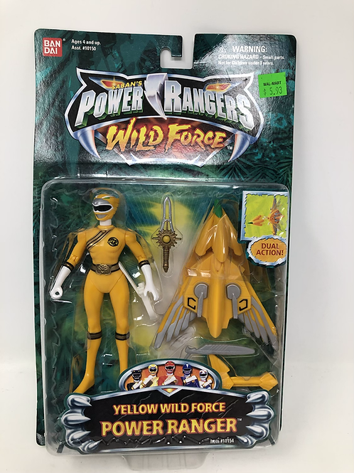 Power Rangers Wild Force Yellow Ranger Bandai